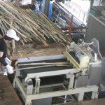 連携提供機で竹燃料を静かに早く製造します。