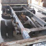 トヨタENGがイスズ車体を修理しています。