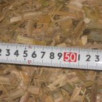 P26木質チップ・竹チップ製造成功